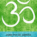 Om Asato Ma Sadgamaya by Linda Woods