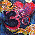 Om Heart Of Kindness by Laurie Maves ART