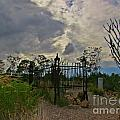 Ominous Boothill Cemetery by John Malone
