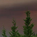 Ominous Smoke Cloud Covers The Rogue Valley by Mick Anderson