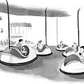 On Bumper Cars by Drew Panckeri
