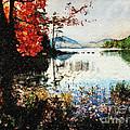On Jordan Pond by Lianne Schneider