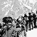 On Mount Blanc by Tim Richards