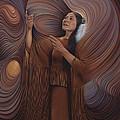 On Sacred Ground Series V by Ricardo Chavez-Mendez