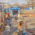 On The Backyards Of Beijing by Victoria Kharchenko