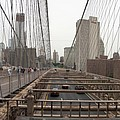 On The Brooklyn Bridge by Christiane Schulze Art And Photography