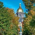 On The Campus Of The University Of Notre Dame by Mountain Dreams