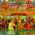 On The Carousel by Dan Sproul