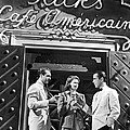On The Casablanca Set by Underwood Archives