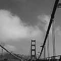 On The Golden Gate Bridge  by Christiane Schulze Art And Photography