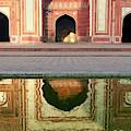 On The Grounds Of The Taj Mahal by Steve Roxbury