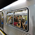 On The Metro - Sao Paulo by Julie Niemela