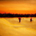 On The Pond With Dad by Desmond Raymond