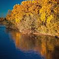 On The Rio Grande by Tony Lopez
