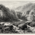 On The River, Lledr, Wales, Uk, Great Britain by English School