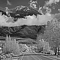On The Road Heading North From Taos New Mexico by Digital Photographic Arts