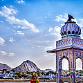 On The Shores Of Pushkar Lake by Catherine Arnas