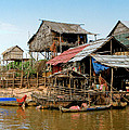 On The Shores Of Tonle Sap by Douglas J Fisher