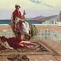 On The Terrace Tangiers by Rudolphe Ernst