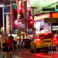 On The Town - Times Square by Miriam Danar