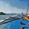 On The Way To Bourtzi Fortress by George Atsametakis