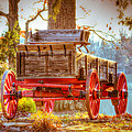 Wagon - Rustic - Once Upon A Time Before Pickups by Barry Jones