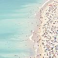Ondarreta Beach, San Sebastian, Spain by John Harper