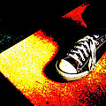 One Converse In A Ray Of Sun by Ronda Broatch