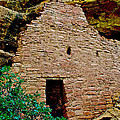 One Entry To Spruce Tree House On Chapin Mesa In Mesa Verde National Park-colorado  by Ruth Hager