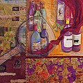 One Glass Too Many - Cabernet by Debi Starr