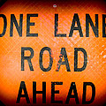 One Lane Road by Sherman Perry