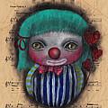 One Love Clown by Abril Andrade Griffith