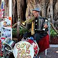 One Man Band - Miami Florida by Alex Vishnevsky