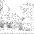 One Monster Devouring A City by Arnie Levin