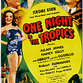 One Night In The Tropics, Us Poster by Everett