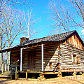 One Room Pioneer Log Cabin  by Kathy  White