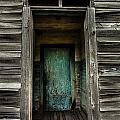One Room Schoolhouse Door - Damascus - Pennsylvania by David Smith