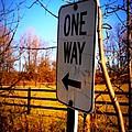 One Way by Amanda Stross
