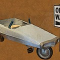 One Way Pedal Car by Michelle Calkins
