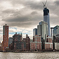 One World Trade Center by Lindley Johnson