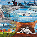 Ontario Heritage Mural by Steve Harrington