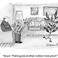 Oops!  There Goes Another Rubber-tree Plant! by Victoria Roberts