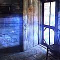 Open Cabin Door With Orbs by Jill Battaglia