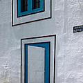 Open Door On Avenida Reboucas by Julie Niemela