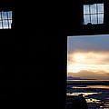 Open Door Sunset - A Great Salt Lake Sunset by Steven Milner