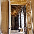 Open Doors At The Palace Of Versailles  by Jan Moore