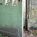 Open Garden Gate by Jill Battaglia