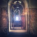 Open Gate To Prison Hallway by Jill Battaglia