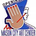 Opening Of Mason City Art Center Poster by Elaine Plesser