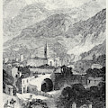 Opening Of The Mont Cenis Tunnel The Town Of Susa 1871 by English School
